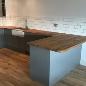 Stone Heat Ltd - Kitchen - Kitchen Installation - Kitchen Breakfast Bar - Loughton