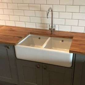 Stone Heat Ltd - Kitchen - Kitchen Installation - Wooden Work Tops - Kitchen Sink - Loughton