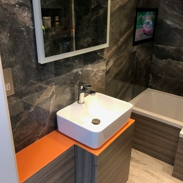 Stone Heat Ltd - Bathrooms - Sink - Loughton