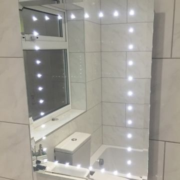 Stone Heat Ltd - Bathrooms - Mirror With Lights - Loughton
