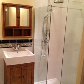 Stone Heat Ltd - Bathrooms - Bathroom Installation - Sink and Shower - Loughton